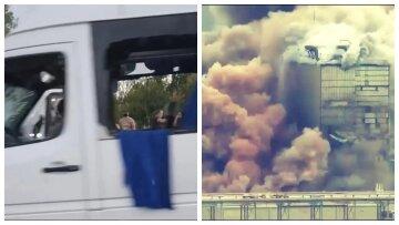 Падение гривны, расстрел автобуса, заморозка отношений с Беларусью и утечка хлора - главное за ночь