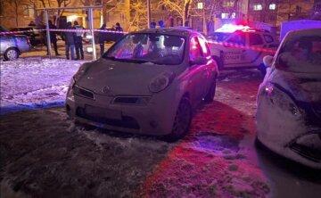 Водій на швидкості збив поліцейську і помчав далі: кадри з місця ДТП і що зараз дівчиною