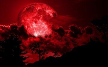 лунный календарь, луна, ночь