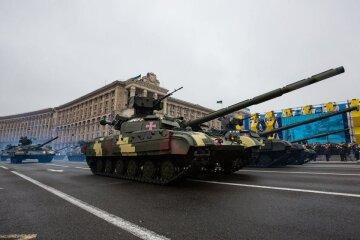 Україна відзначила 25-річчя незалежності військовим парадом