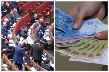 верховная рада, штрафы, деньги, гривны, депутаты