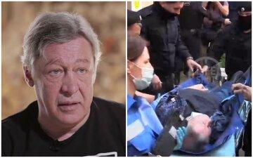 """Стан змученого Єфремова жахнув очевидців, вже не може ходити: """"Дістали з авто і потягли"""""""