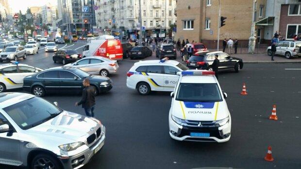 взрыв Киев теракт полиция