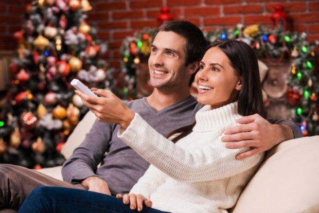 Новый год, Рождество, телевизор