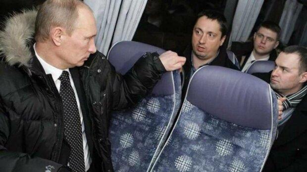 Путін зіпсував повітря в автобусі: відомий каскадер не витримав і розповів усе