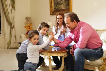 Виктор Медведчук, Оксана Марченко, семья