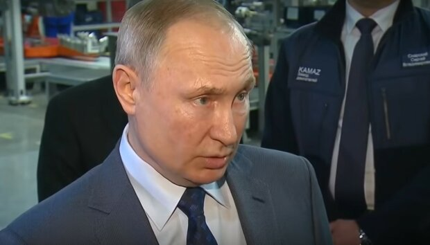 Путин, скриншот
