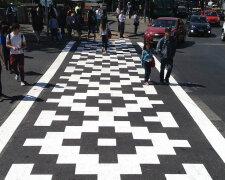 тротуар улица люди город