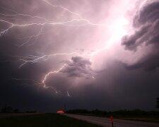 шторм, ураган, молния, катастрофа