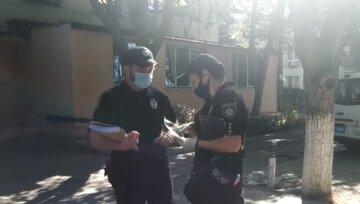 полиция, грабеж