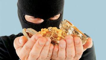 вор, ограбление, драгоценности