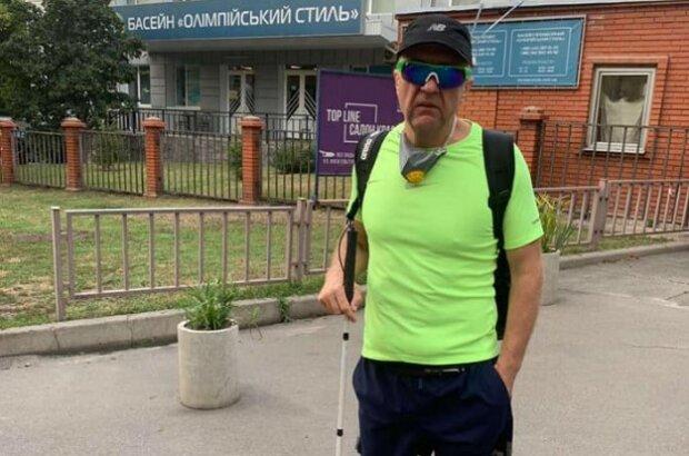 """Спортсмена з інвалідністю зі скандалом не пустили в басейн в Києві: """"Взагалі не можна з дому виходити"""""""