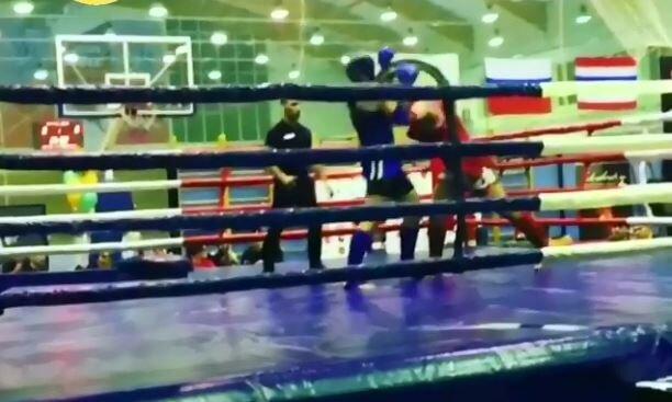 Український боєць побив суперника в Росії, відео перемоги вистачило одного удару