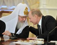 патриарх кирилл, путин