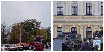 Військову техніку терміново стягують в центр Києва: фото з місця і деталі того, що відбувається