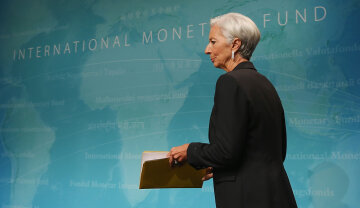 IMF Chief Christine Lagarde Briefs On State Of US Economy