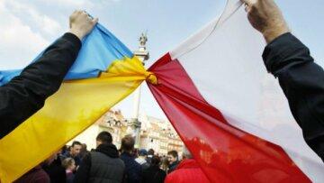 флаг, Польша, Украина