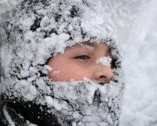 зима, сніг, хуртовина, снігопад