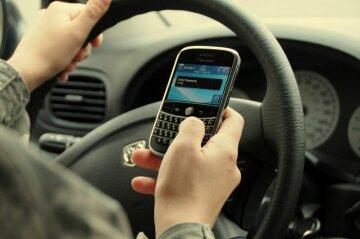 водитель, мобильный телефон