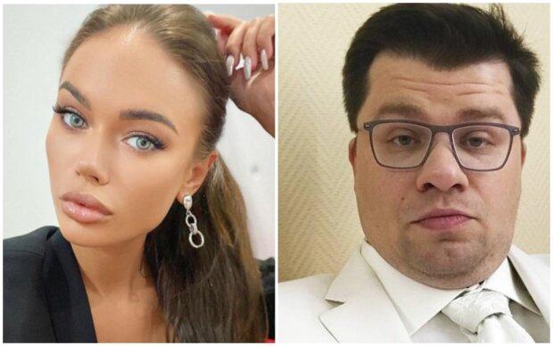 """Худенька """"наречена"""" Гаріка Харламова заінтригувала занадто пишним бюстом: """"Яна, без образ..."""""""