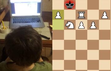 """""""Росіяни не здаються"""": шахіст з РФ обматюкав 8-річного українця за принизливу поразку, кадри"""