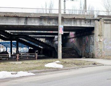 мост Киев соломенский район