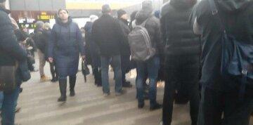 НП на швидкісному трамваї у Києві: рух екстрено зупинено, кадри з місця подій