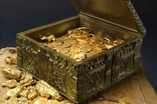 скарб з монетами