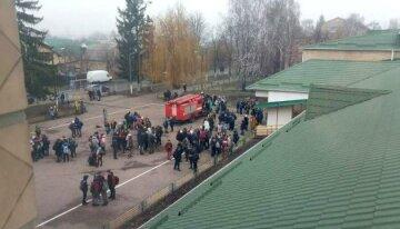 школа, эвакуация
