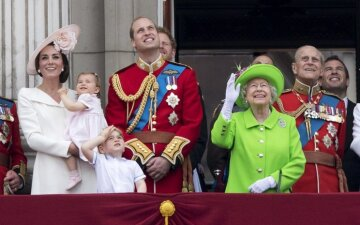 Британия, королевская семья