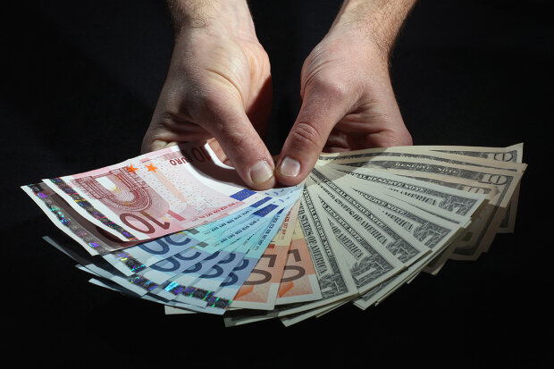 курс валют , деньги