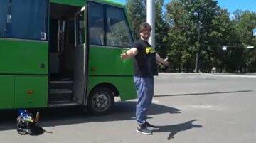 """""""Укладайся, а то СБУшники приїдуть"""": у Харкові зняли пародію на події в Луцьку, відео"""