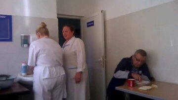 больница, еда