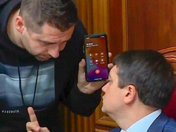 Давид Арахамия, Дмитрий Разумков