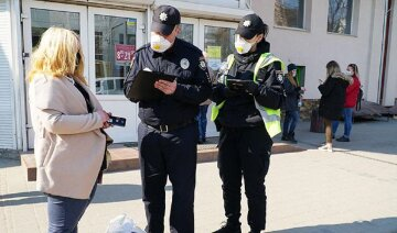поліція, карантин, штрафи, люди