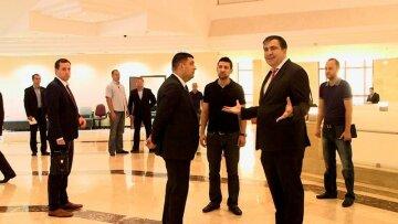 Михаил Саакашвили Владимир Гройсман
