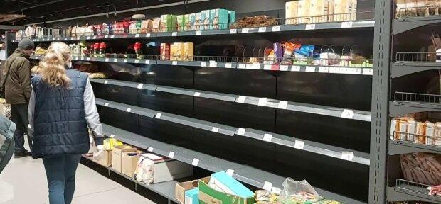 супермаркет, паника