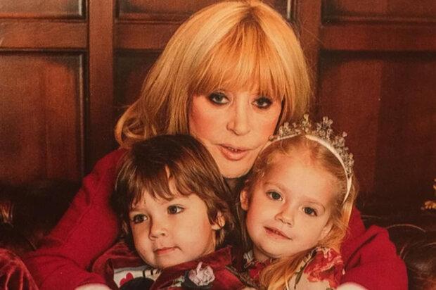 Пугачева и дети
