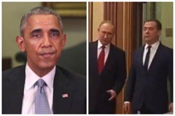 """Обама высказал все, что думает о Медведеве и Путине: """"Один - стиляга, а второй - уличный босс"""""""