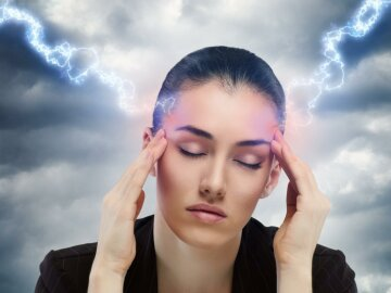 магнитная буря, головная боль