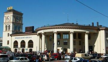 Срочная эвакуация у киевского вокзала, съехались силовики: видео, первые подробности