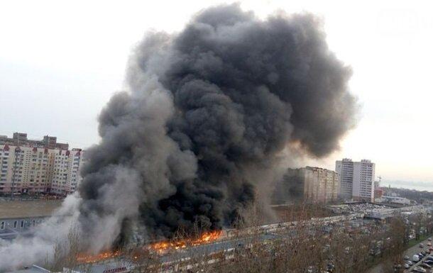Пожар в Одессе: больше всех пострадали полицейские (фото)