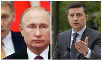 У Кремлі відреагували на падіння рейтингу Зеленського: «Можна тиснути»