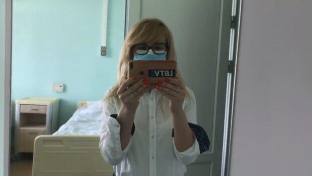 """Українка показала, що діється в лікарні для заражених коронавірусом: """"Лікарі не витримують"""""""