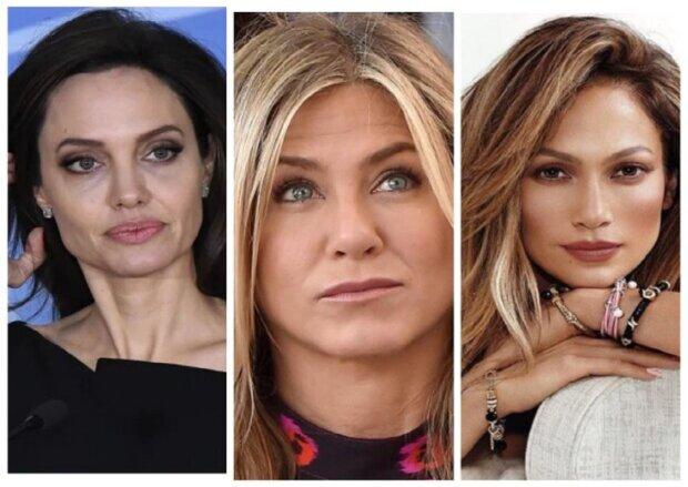 Як Джолі, Еністон, Лопес та інші королеви Голівуду зганьбилися з макіяжем: показові фото