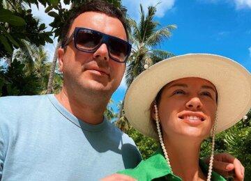 """Ведущий """"Холостяка"""" Решетник на Мальдивах зажег с женой на камеру: """"Пора на Танці з зірками"""""""