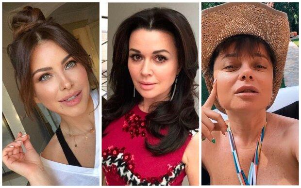 Ани Лорак, Анастасия Заворотнюк, Наташа Королева