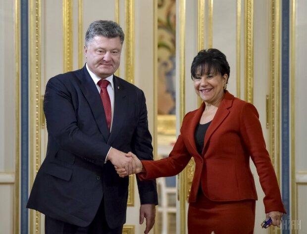 Порошенко и Прицкер министр торговли США