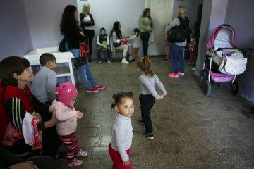 детская поликлиника, очередь