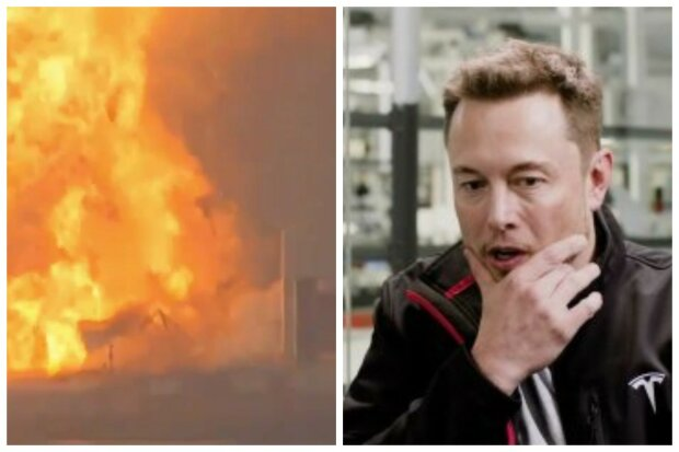 """Біда у Ілона Маска, потужний вибух розніс корабель вщент, відео: """"через дві хвилини..."""""""